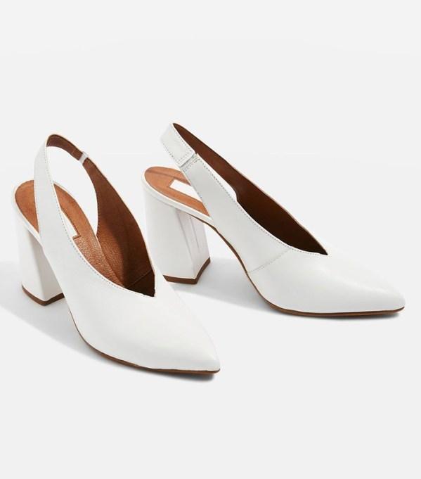 The Best Slingback Shoes to Wear This Summer: Topshop Georgia Slingback Heel | Summer Footwear 2017