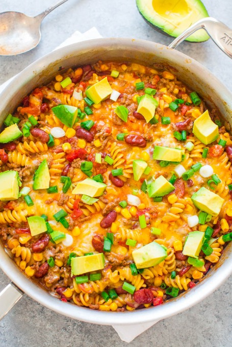 Rescue Overcooked Meat: This super saucy taco pasta will reconstitute your dried meat