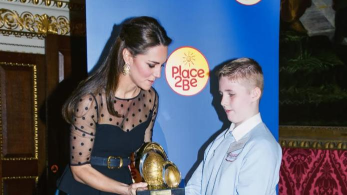 Kate Middleton supports Children's Mental Health