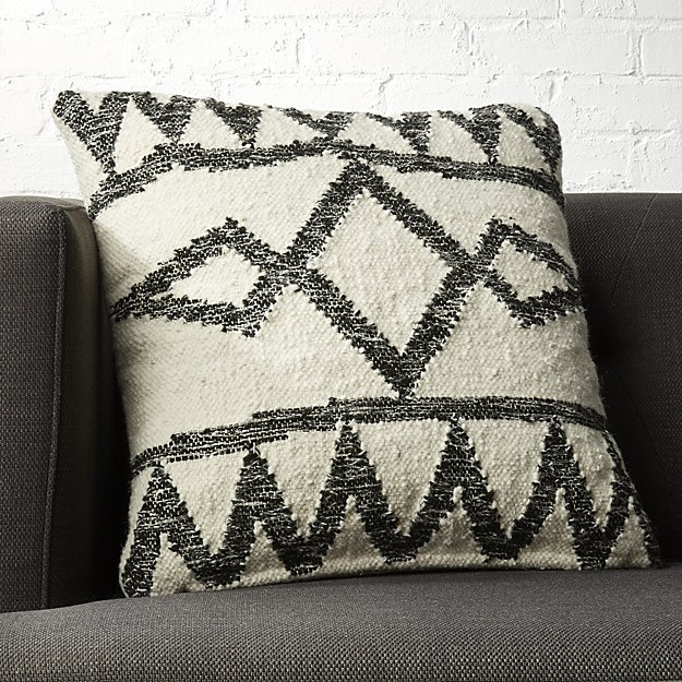 Modern Southwestern Decor: Accent throw pillows can make a big change to your room