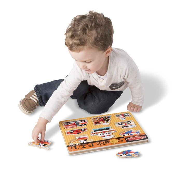 Moms' Most-Hated Holiday Gifts: Melissa & Doug Sound Puzzles