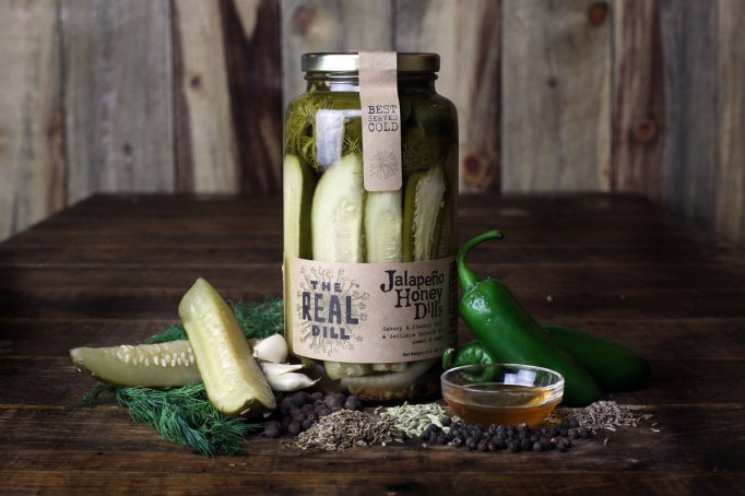 Jalapeno honey dill pickles