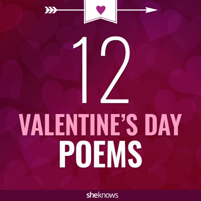 Valentine's Day poems with a twist