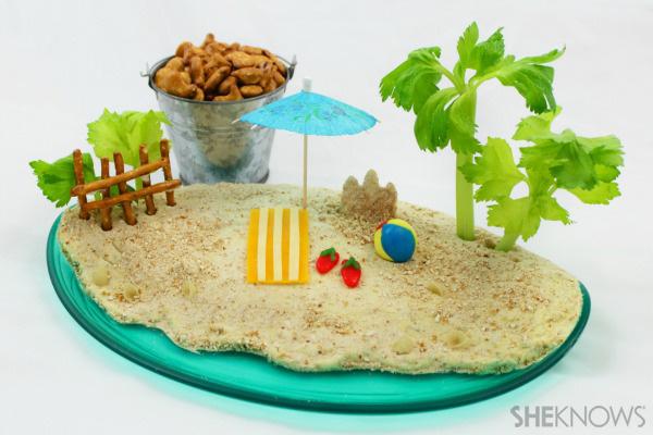 Beach pretzel dip
