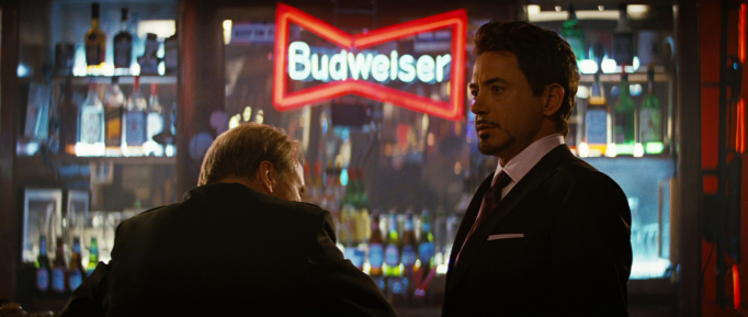 Tony Stark post-credits scene in The Incredible Hulk