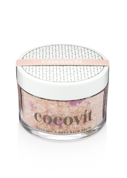 Decadent Bath Products To Try | Cocovit Coconut + Rose Bath Salts