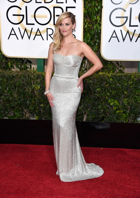 Reese Witherspoon at the 2015 Golden Globe Awards