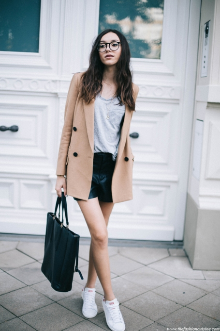 Bloggers Show You How to Wear Shorts for Fall : The Fashion Cuisine