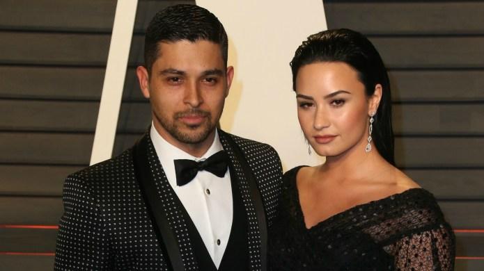 Demi Lovato and Wilmer Valderrama are