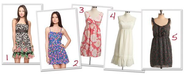 10 Sexy summer dresses for less