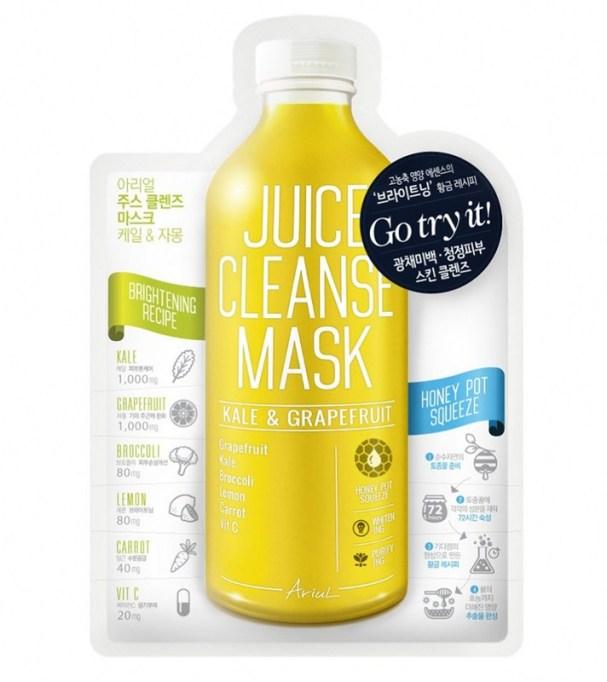 Best Korean Skin Care Products To Buy At CVS | Ariul Juice Cleanse Mask Kale & Grapefruit