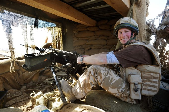 Prince Harry stationed in Afghanistan