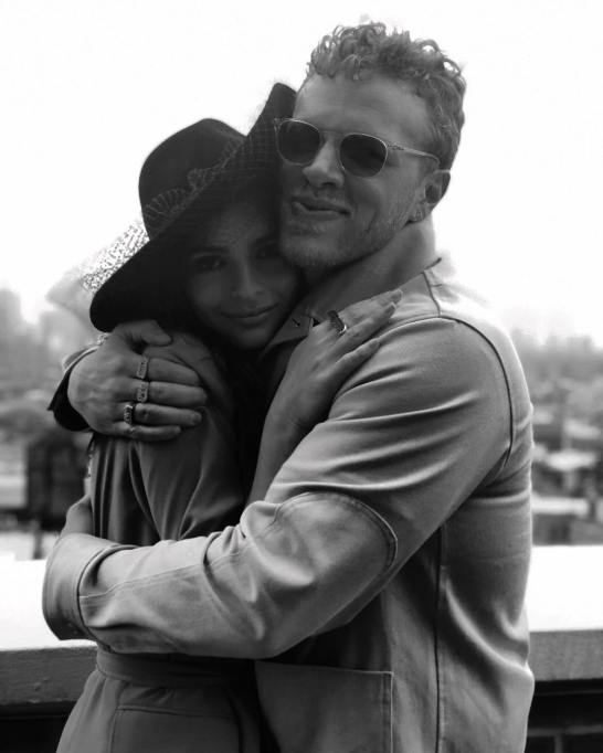 Celebrity Weddings Emily Ratajkowski and Sebastian Bear-McClard