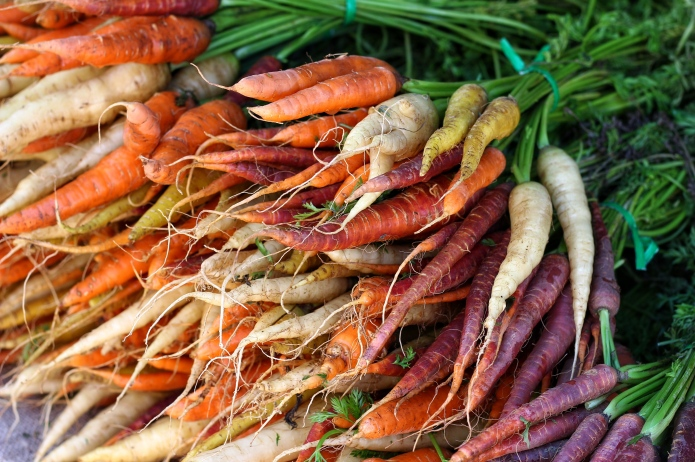 10 colorful vegetables to plant for