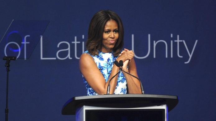 You'll never guess what Michelle Obama