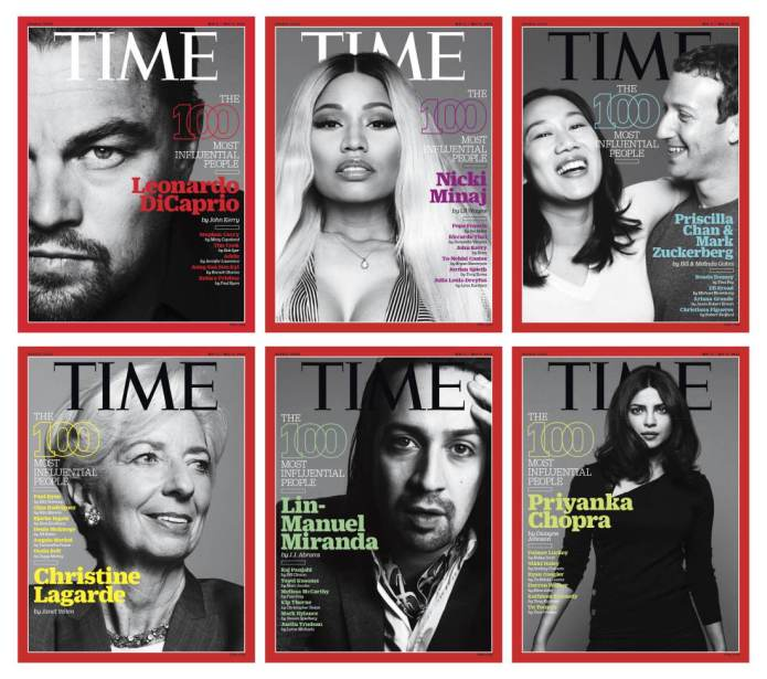 All of Time's 100 Most Influential
