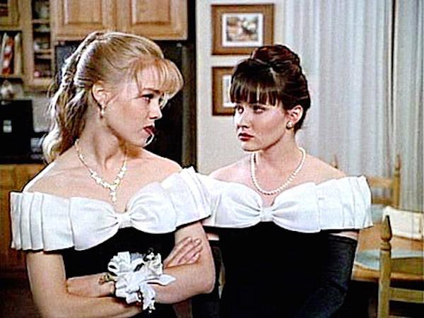 Jennie Garth and Shannen Doherty 90210