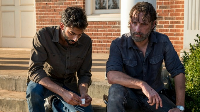 Avi Nash and Andrew Lincoln