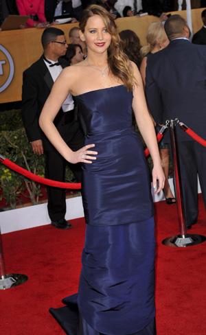 Jennifer Lawrence 2013 SAG