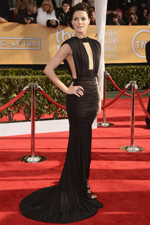 Jaime Alexander at the 2013 SAG Awards