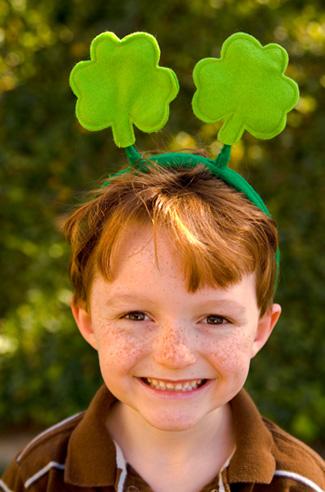 Saint Patrick's Day Boy