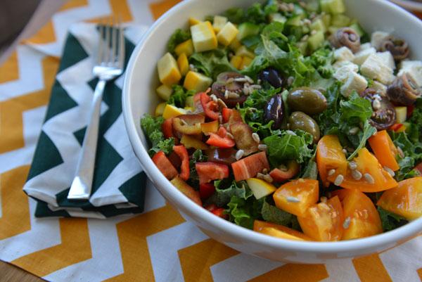 Athlete Food Greek Salad