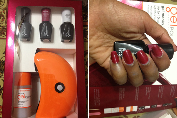 Sally Hansen Salon Gel Polish Starter Kit Review Sheknows