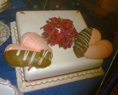 gross valentine cake