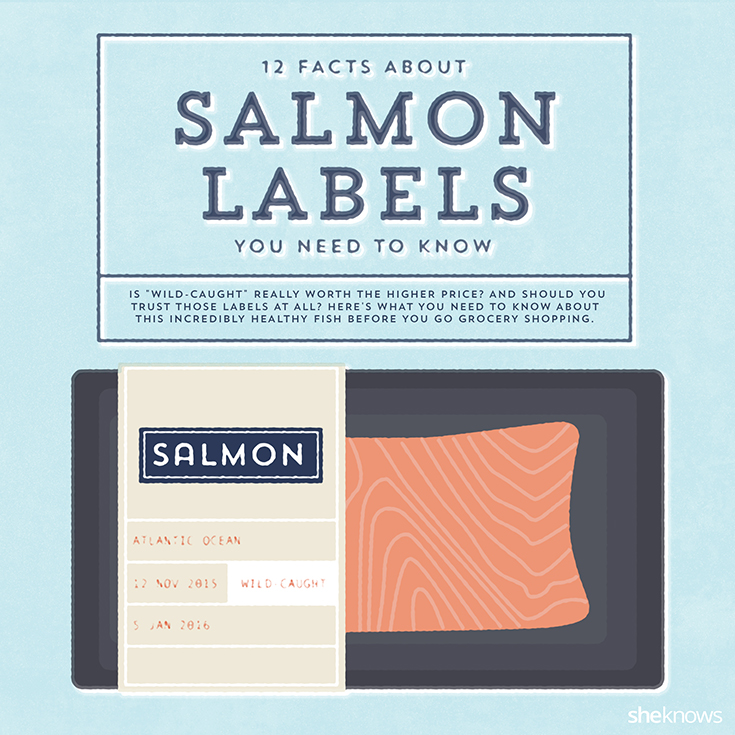 salmon facts labels