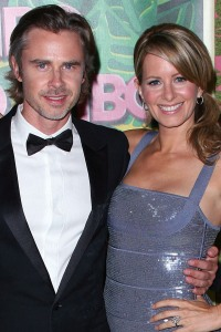 Sam Trammell and Missy Yeager
