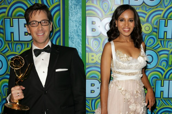 Scandal Emmy 2013 - Kerry Washington and Dan Bucatinsky