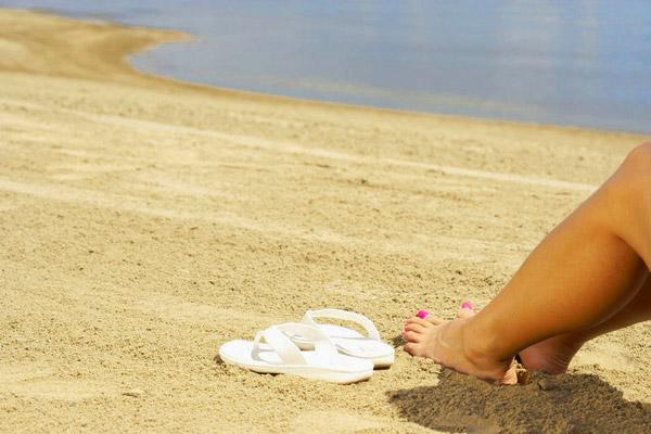 Sandal-ready feet for summer