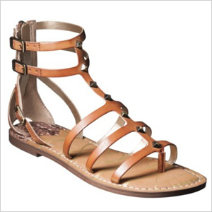 Gladiator sandals from Target