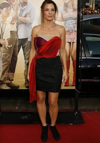 Sandra Bullock at the All About Steve premiere
