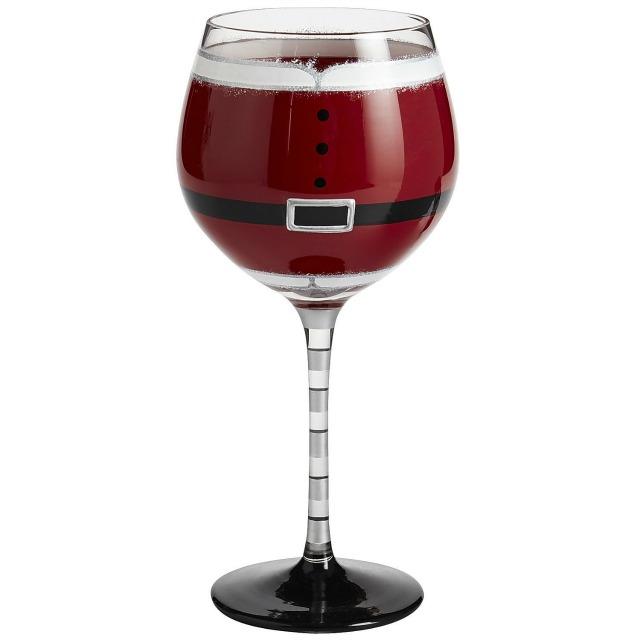 santa goblet