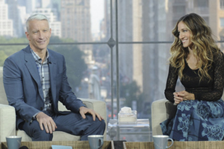 Anderson Cooper and Sarah Jessica Parker