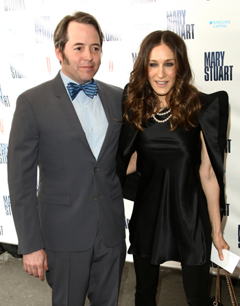 Sarah Jessica Parker and Matthew Broderick hit the town