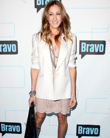 Sarah Jessica Parker wearing white after Labor Day