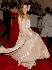 Sarah Jessica Parker in pink gown