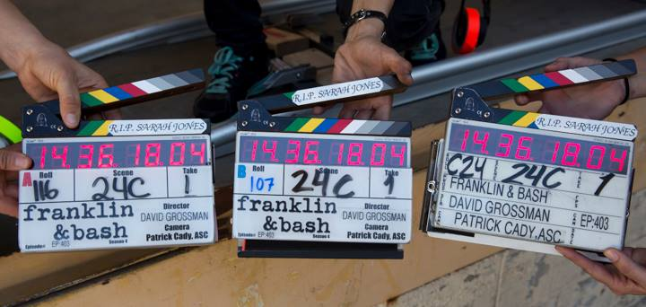 Slates for Sarah Franklin & Bash