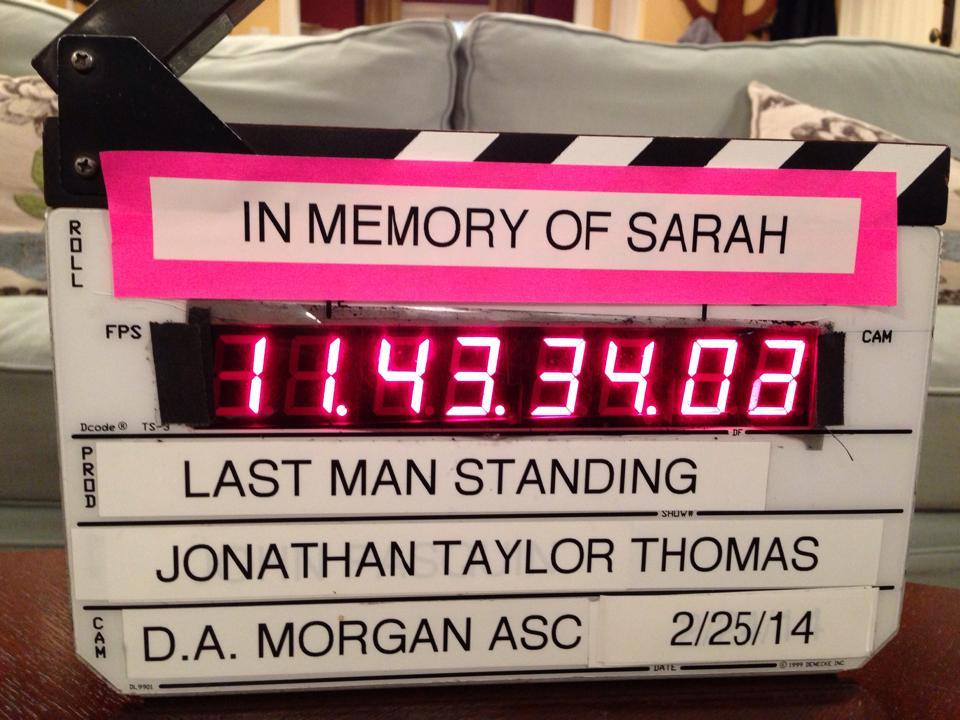 Slates for Sarah Last Man Standing