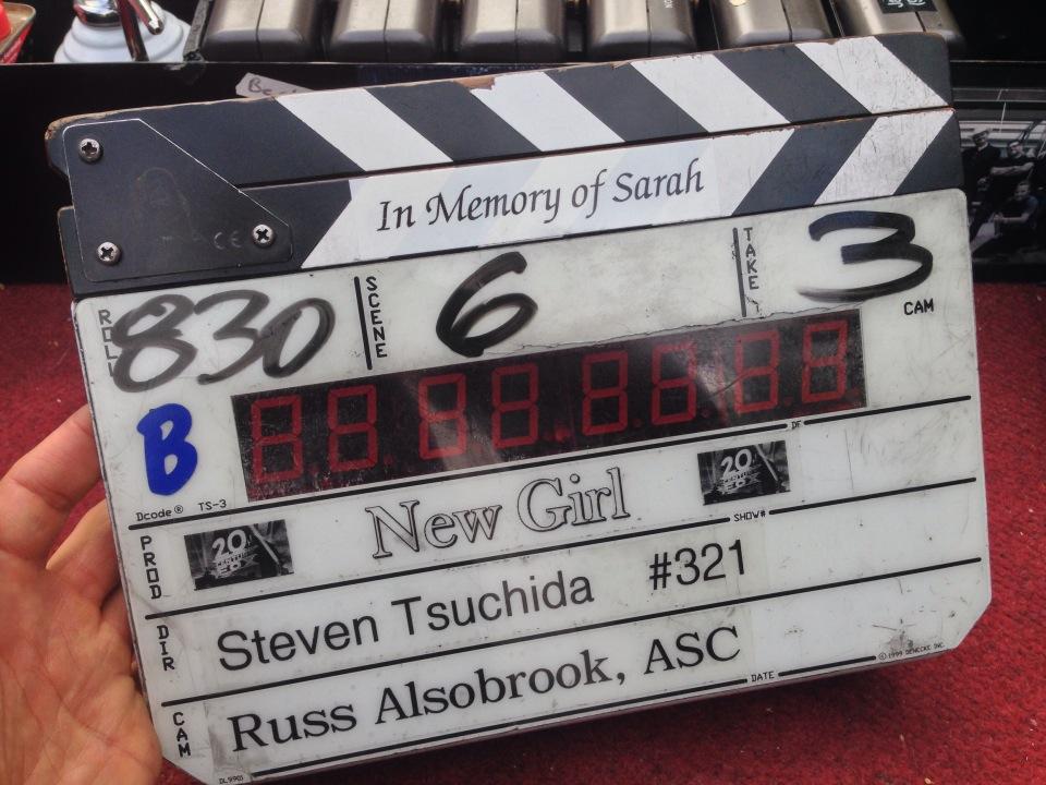 Slates for Sarah new Girl