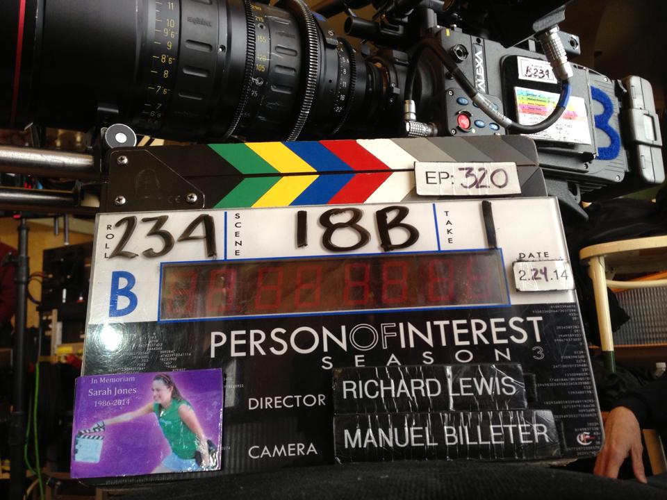 Slates for Sarah Person of Interest