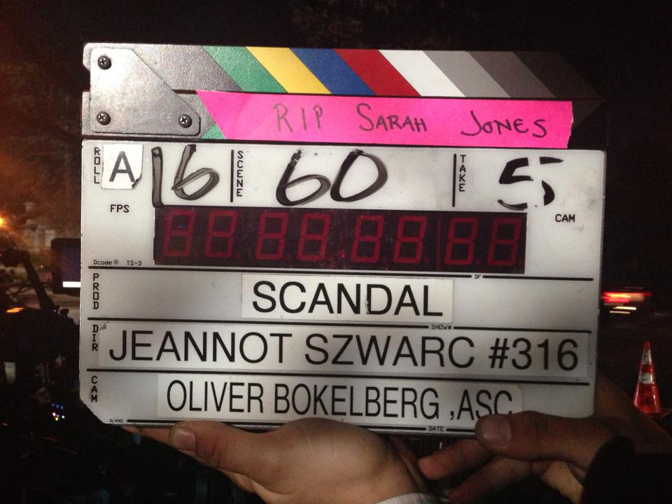 Slates for Sarah Scandal