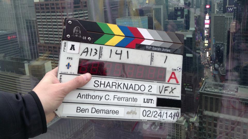 Slates for Sarah Sharknado 2