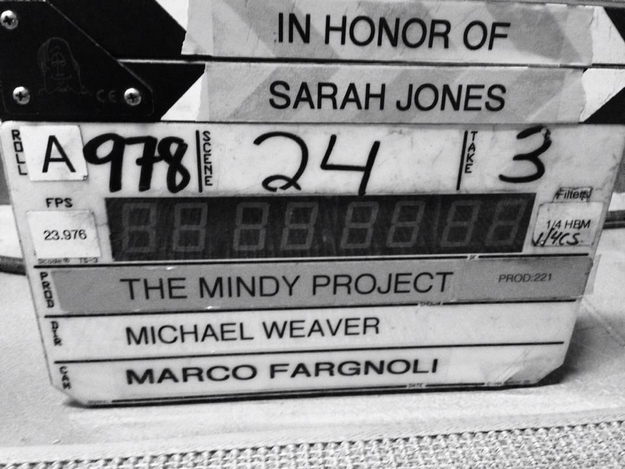 Slates for Sarah The Mindy Project