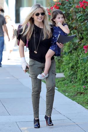 Sarah Michelle Gellar with daughter Charlotte