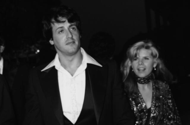 Sylvester Stalone & Sasha Czack