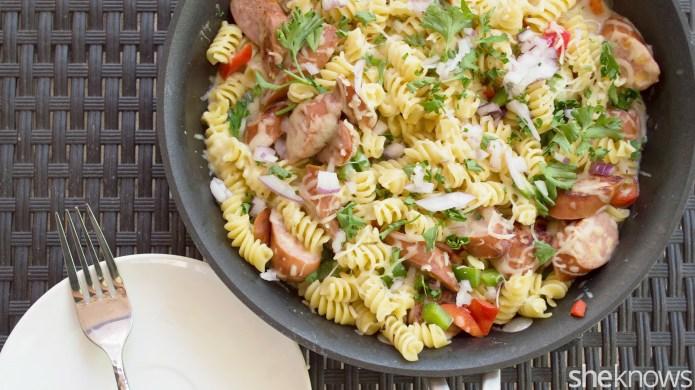 One-Pot Wonder: Easy turkey sausage pasta