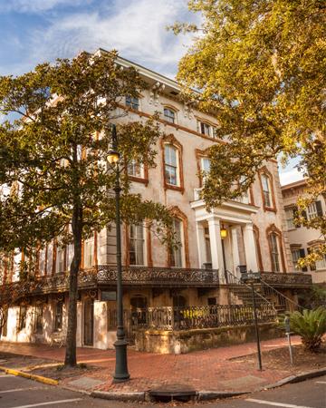 Savannah, GA in the fall